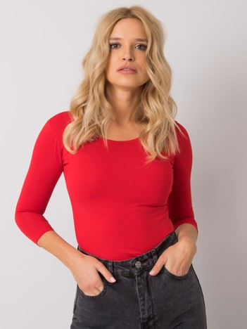 Czerwona bluzka Mona