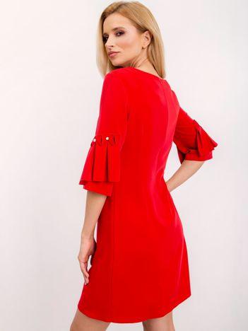 Czerwona sukienka Entice