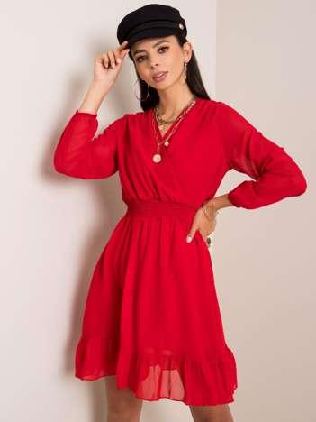 Czerwona sukienka Giovana RUE PARIS