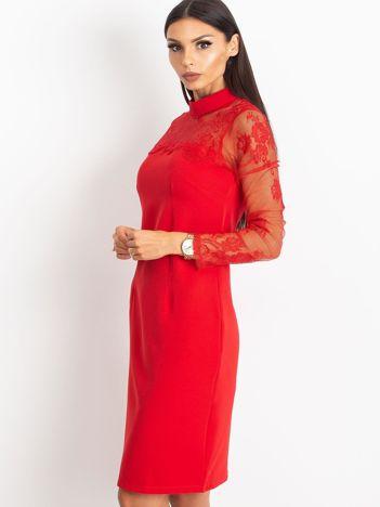 Czerwona sukienka Time