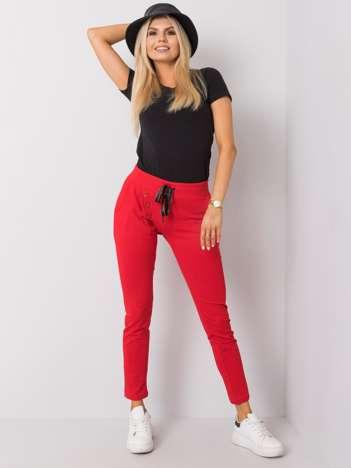 Czerwone spodnie dresowe Patrice