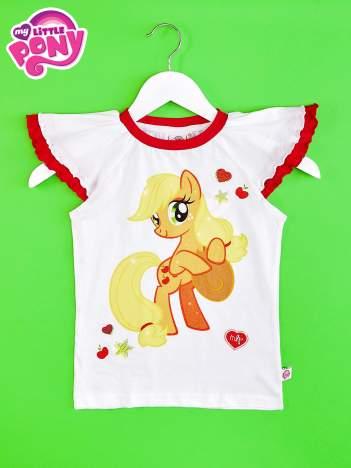 Czerwony t-shirt dla dziewczynki MY LITTLE PONY