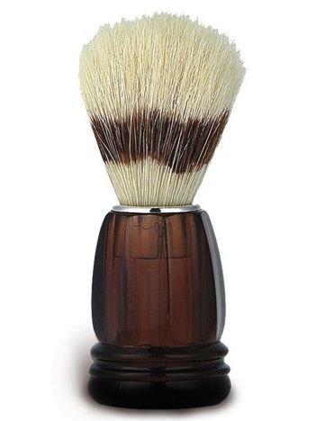 DONEGAL Pędzel do golenia Naturalne włosie dzika brązowy (9463)