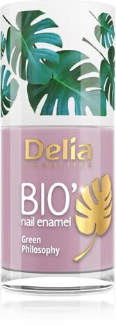 "Delia Cosmetics Bio Green Philosophy Lakier do paznokci nr 635 Lilac 11ml"""