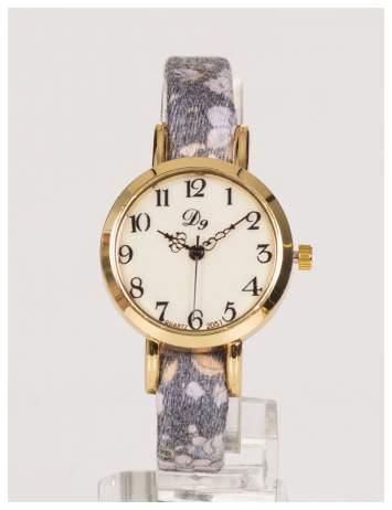 Delikatny zegarek damski z kwiatami ze wskazówkami RETRO