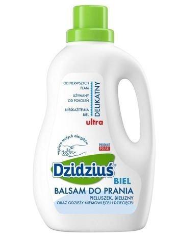 Dzidziuś Balsam do prania Ultradelikatny Biel 1,5 l