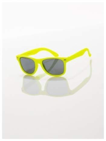Dziecięce okulary odporne na wyginania z klasyczną oprawką  WAYFARER NERD