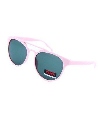 Dziecięce okulary przeciwsłoneczne różowe z filtrami