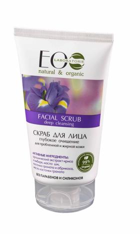 """Eco Laboratorie Scrub do twarzy oczyszczający 150 ml"""""""