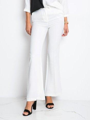 Ecru spodnie Fancy