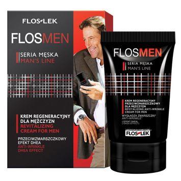 FLOSLEK Krem regeneracyjny przeciwzmarszczkowy dla mężczyzn  50 ml