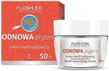 FLOSLEK ODNOWA argan+ Krem multi-odżywczy 50+ na noc 50 ml