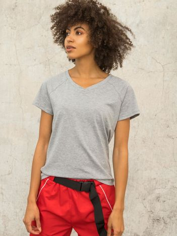 FOR FITNESS Szary t-shirt Layla