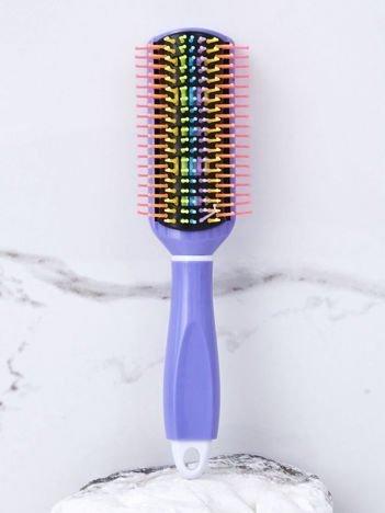 Fioletowa szczotka do włosów