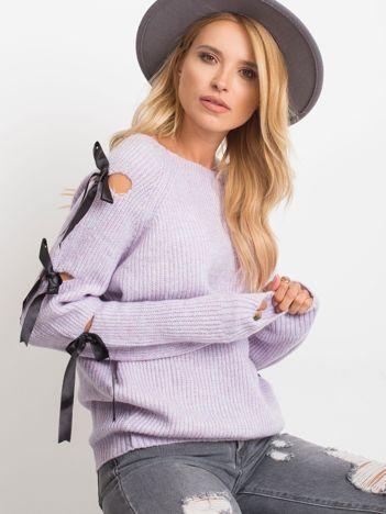 Fioletowy sweter Hailee
