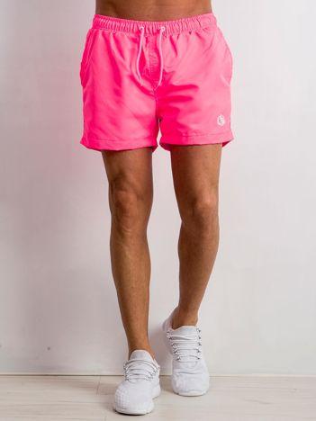 Fluo różowe spodenki męskie Classic