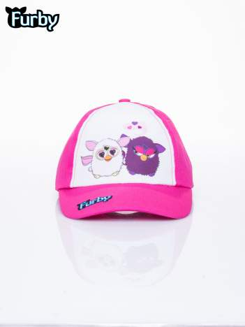 Fuksjowa czapka z daszkiem dla dziewczynki FURBY