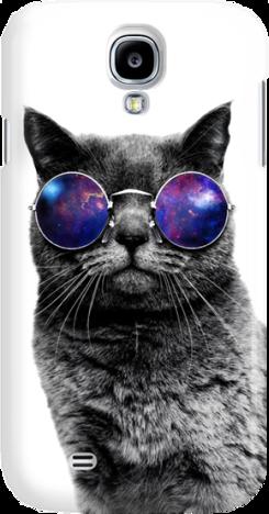 Funny Case ETUI SAMSUNG S4 CAT