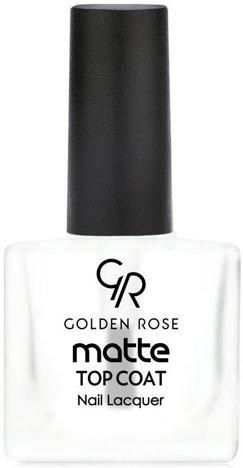 GOLDEN ROSE Matte Top Coat Matowy utwardzacz 10,5 ml