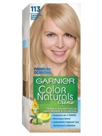 Garnier Color Naturals Krem koloryzujący nr 113 Superjasny Beżowy Blond