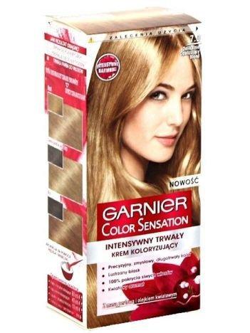 Garnier Color Sensation Krem koloryzujący do włosów 7.0 Delikatnie opalizujący blond