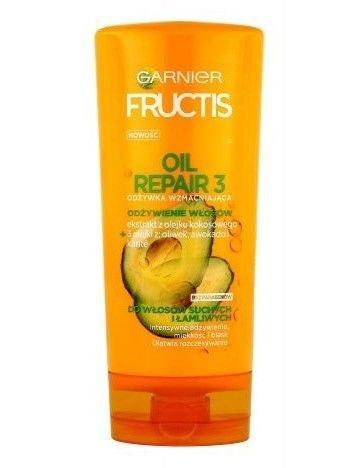 Garnier Fructis Odżywka wzmacniająca do włosów suchych i łamliwych Oil Repair 3  200 ml