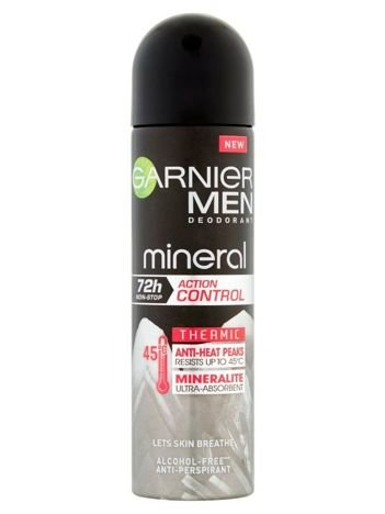 Garnier Mineral Men Antyperspirant w sprayu Action Control Thermic 72h  150 ml