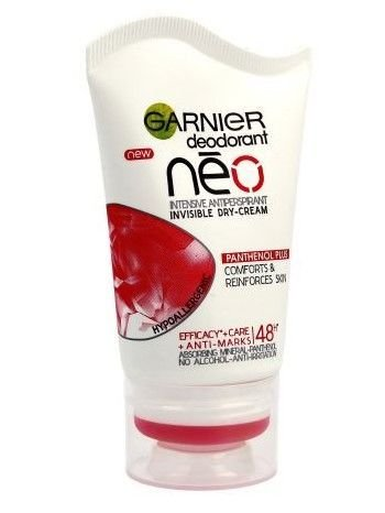 Garnier Neo Antyperspirant w kremie Panthenol Plus  40 ml