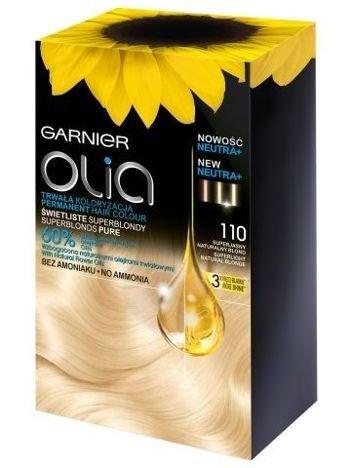 Garnier Olia Farba do włosów nr 110 Super Jasny Naturalny Blond