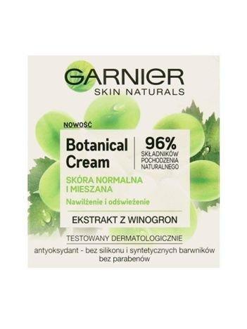 Garnier Skin Naturals Botanical Krem nawilżająco-odświeżający Grape Extract  50 ml