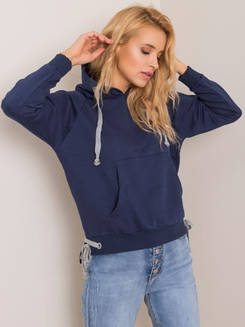 Granatowa bluza Cassie
