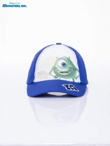 Granatowa chłopięca czapka z daszkiem  POTWORY I SPÓŁKA