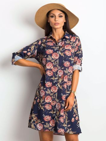 Granatowa sukienka Enterprising