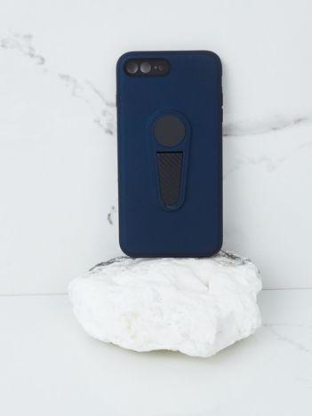 Granatowe etui na iPhone 7G/8G Plus