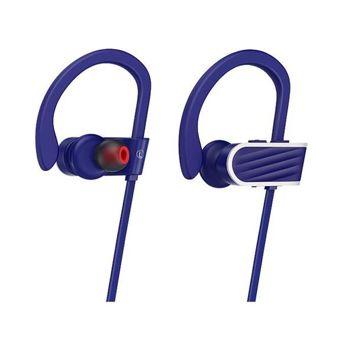 HOCO ES7 Bezprzewodowe sportowe słuchawki bluetooth odporne na wstrząsy i pot 6h odtwarzania muzyki Kolor niebieski