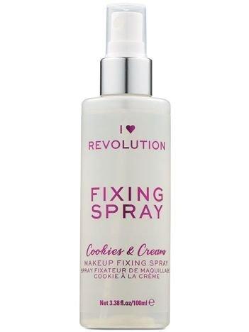 I Heart Revolution Fixing Spray Mgiełka utrwalająca makijaż Cookies&Cream 100ml