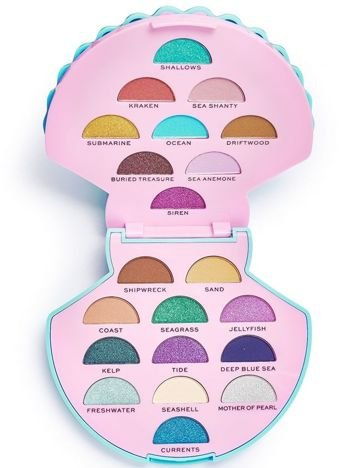 I Heart Revolution Ocean's Treasure Eyeshadow Palette Paleta 21 cieni 9,45 g