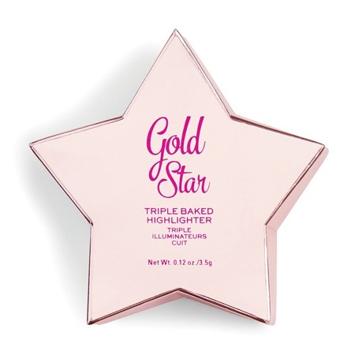 I Heart Revolution Star of the Show Rozświetlacz wypiekany Gold Star 3.5g