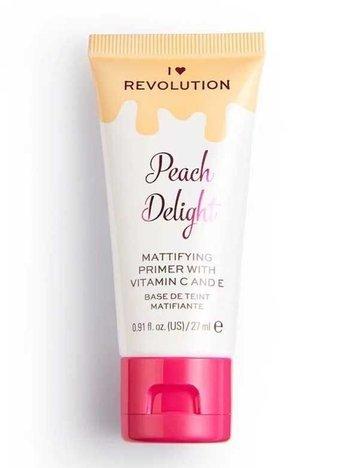 I ♥ Revolution Peach Delight Primer Matująca baza pod makijaż 27 ml