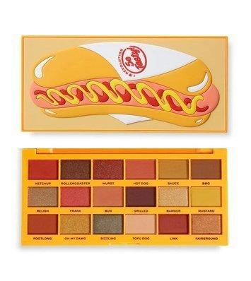 I ♥ Revolution Tasty Hot Dog Eyeshadow Palette Paleta 18 cieni do powiek