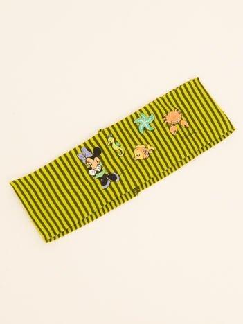 INCA Wielokolorowa opaska na głowę dziecięca z postaciami z bajek