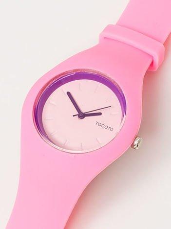 JELLY Mały Różowy Zegarek Damski
