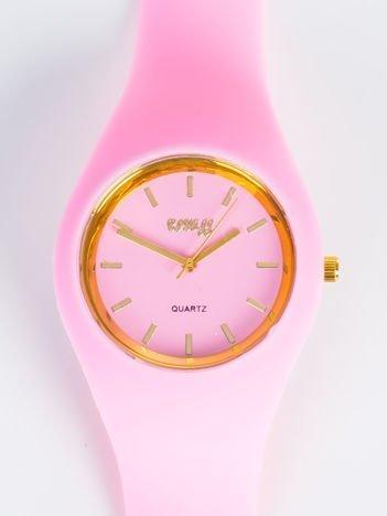 JELLY różowo-złoty zegarek damski HIT!
