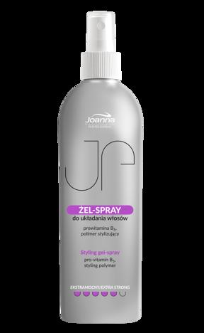 JOANNA PROFESSIONAL Żel spray do układania włosów ekstramocny 300ml