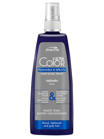 JOANNA Ultra Color System Niebieska płukanka do blondów 150 ml