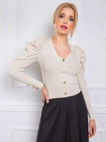 Jasnobeżowy sweter Hazel