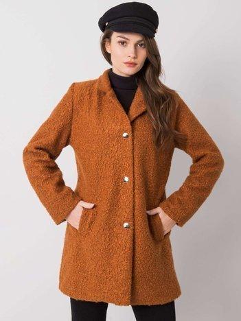 Jasnobrązowy płaszcz Reina