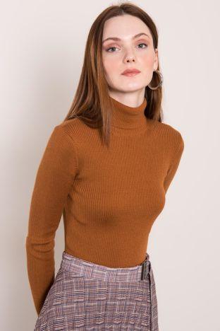 Jasnobrązowy sweter BSL