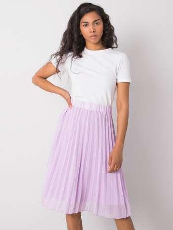 Jasnofioletowa spódnica plisowana Angie SUBLEVEL