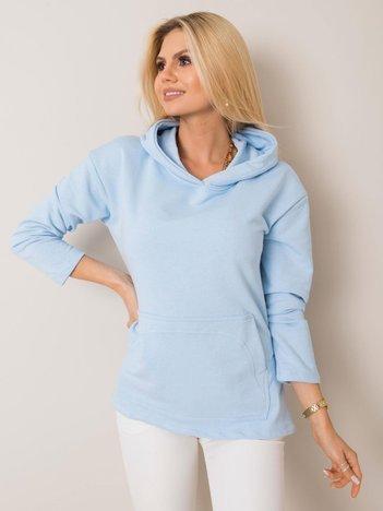 Jasnoniebieska bluza Hattie